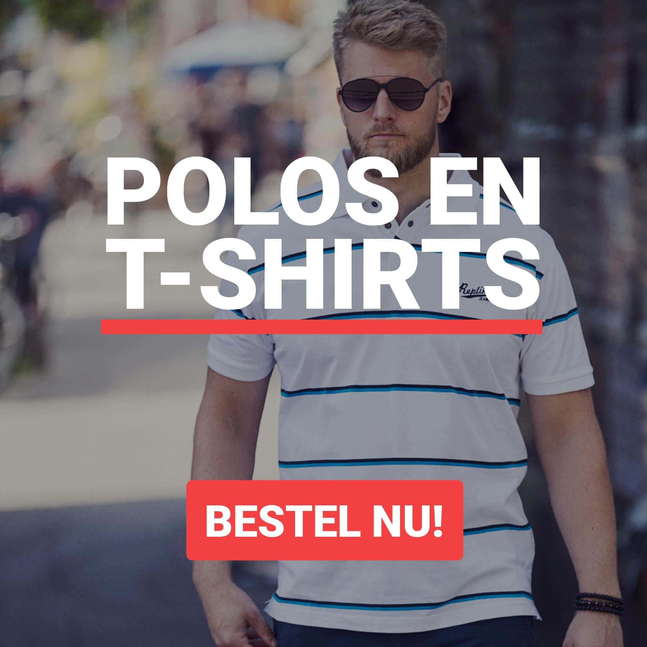 Grote maten t-shirts en polo's